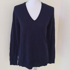 Joe Fresh Dark Navy Size L Merino Wool Sweater